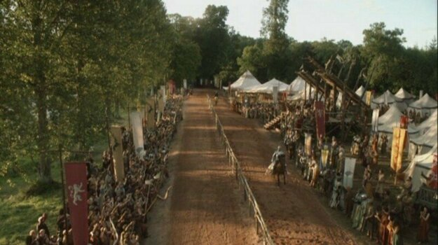 The Land of Always Winter / The Wildlings Site & Tourney of the Hand in honor of Ned Stark