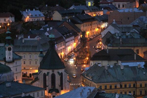 Centre of Banská Štiavnica