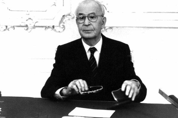 Gustav Husák served as the Secretary General of the Communist Party of Czechoslovakia (KSČ) and president of Czechoslovakia in the seventies and eighties.