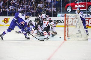 Slovakia lost 5:6 to Canada in the game during the 2019 Ice-Hockey World Championship.