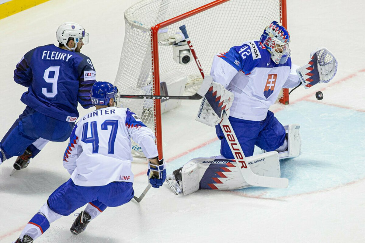 best sneakers 5029a 38b48 IIHF Worlds: Slovak team wins against France - spectator.sme.sk