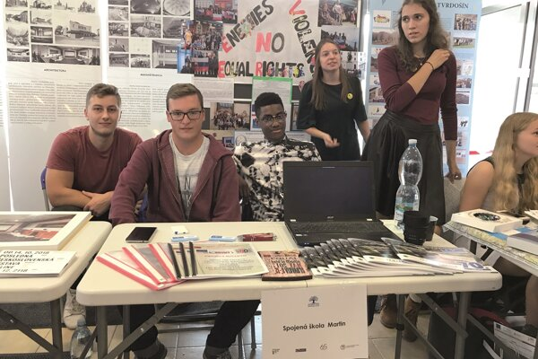 In October last year, students of the University of Martin presented their project at the Project Fair event.