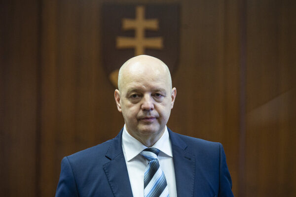 Pavol Rusko testified on the first day of the trial.