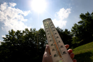 The SHMÚ has issued a heat warning for August 20.