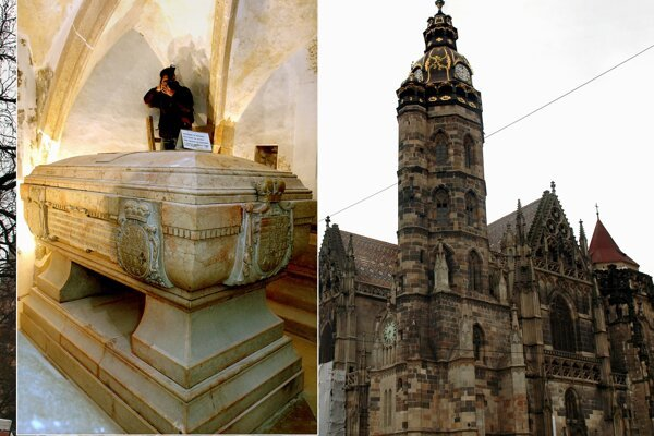 Tourists can be lured to Košice also by its monuments, e.g. St Elizabeth Cathedral