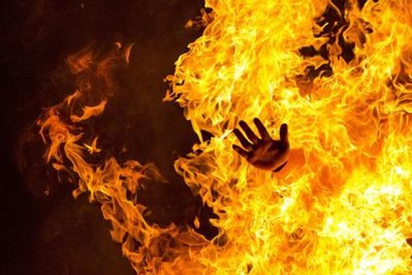 Fire, illutsrative stock photo