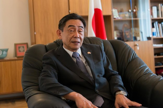 Japanese Ambassador Akio Egawa