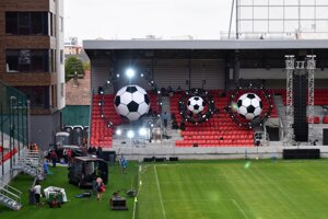 Football stadium in Trnava