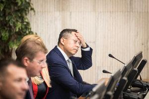 Finance Minister Ladislav Kamenický is experiencing tough budgetary times.