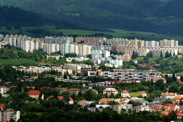 Sásová neighbourhood in Banská Bystrica