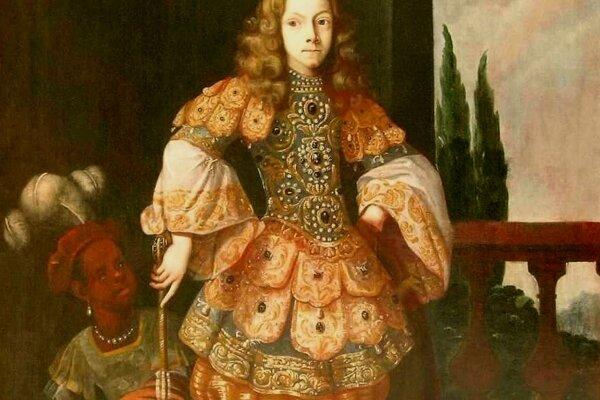 Benjamin Block or Gerard Du Chateau: Portrait of Emperor Joseph I., 1680-1690, 205x126 cm