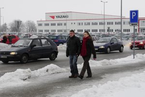 Japanese company Yazaki has a plant in Michalovce.