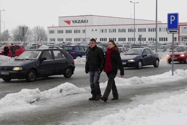 Japanese company Yazaki has a plant in Michalovce.