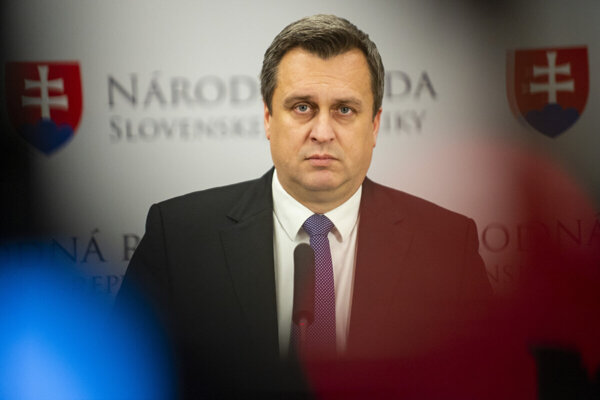 Speaker Andrej Danko