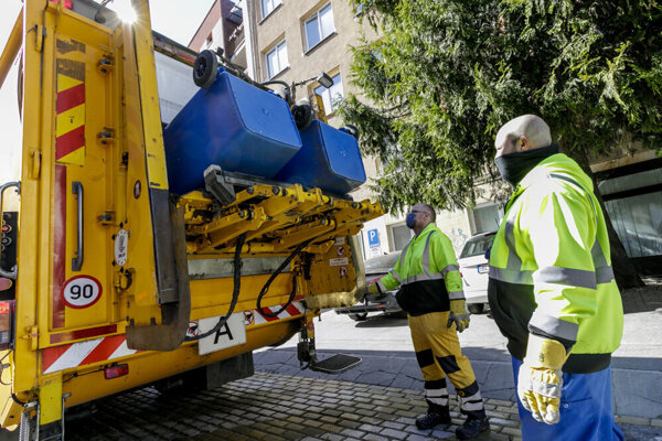 Collection of separated waste is changing in Bratislava.
