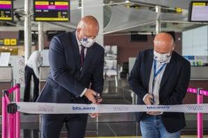 The airport in Bratislava reopened