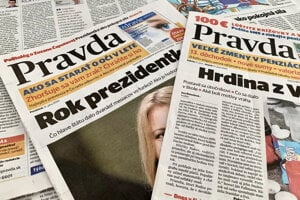 The publisher, Perex, is under temporary protection from June 15 until October. The Pravda daily is the publisher's strongest brand.