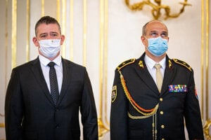 Interior Minister Roman Mikulec and Police Corps President Milan Lučanský both admit their opinions differ.