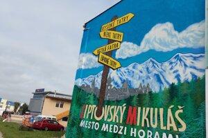 Liptovský Mikuláš, a town between the mountains
