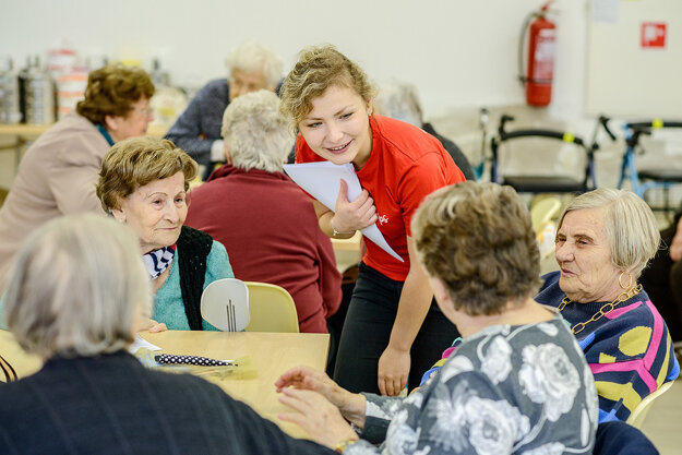 CSR and volunteering activities are an integral part of the GBS+ Bratislava strategy. In Slovakia we focus on helping senior citizens.