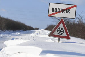 Eastern Slovakia, as well as other parts of Slovakia, were blasted with snow and freezing temperatures.