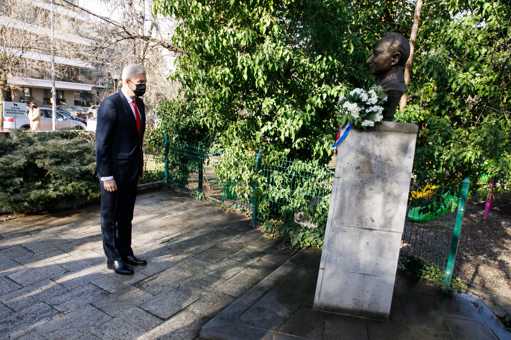 Foreign Affairs Minister Ivan Korčok (SaS nominee) began his working trip to Turkey by laying a wreath at the bust of Alexander Dubček, one of the main protagonist of the 1968 Prague Spring.