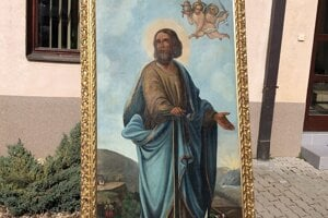 WEEK 13: The image of St Clement by Anton Haffer, stolen from the calvary in Rožňava in 1993, has been traced and returns to the town after 28 years this week.