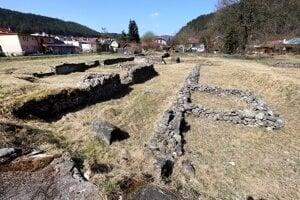 WEEK 15: The Kláštorisko archaeological park in Slovenská Ľupča, near Banská Bystrica.