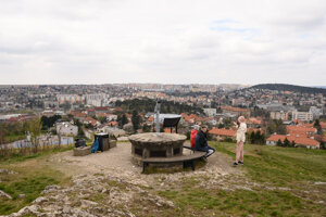 Calvary Hill in Nitra.
