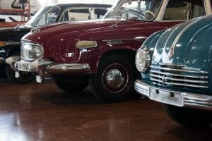 Tatra cars of Czechoslovakia are on display at Lane Motor Museum in the American city of Nashville.