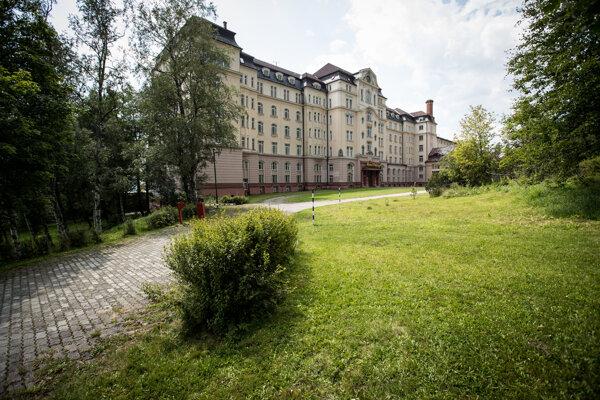 A hotel in Nový Smokovec.
