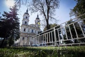 The basilica minor in Šaštín.