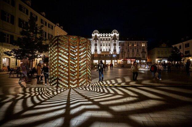 White Night 2021 in Bratislava