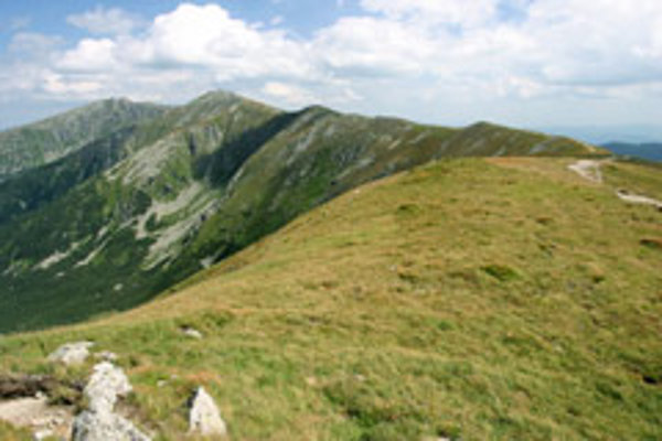 The SNP trail takes you along the main ridges of some of Slovakia's most beautiful mountain chains.