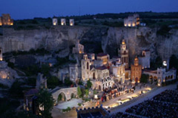 Burgenland's Roman Quarry offers an unusual setting for opera.