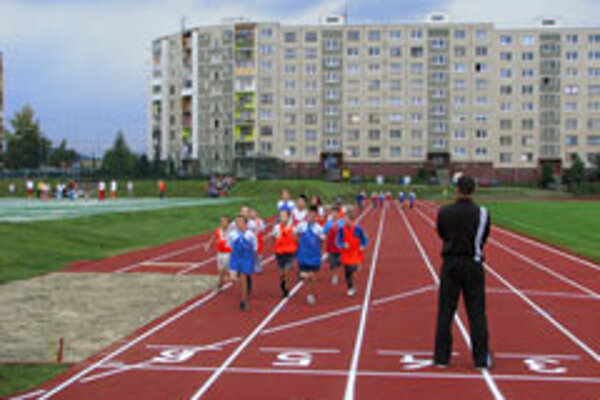 Schools like this one in Poprad are using sports facilities to attract pupils.