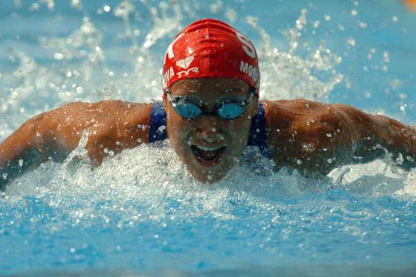 Martina Moravcová won two silver Olympic medals in Sydney in 2000.