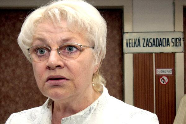 Labour Minister Viera Tomanová