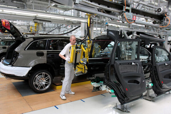 The car industry, which exports most of its production, might be affected by the current crisis