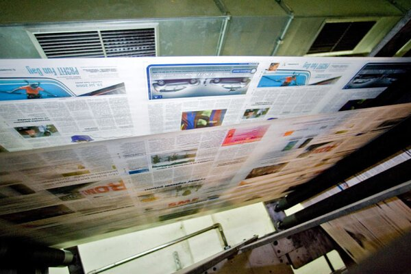 What is the future for the print media?