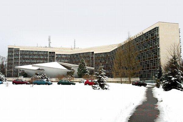 The Technical University in Zvolen.