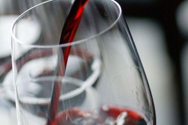 A glass of Rubin Carnuntum