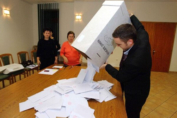 There were fewer ballots in regional elections than hoped.