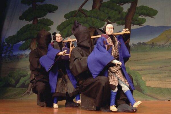 Japanese puppet theatre
