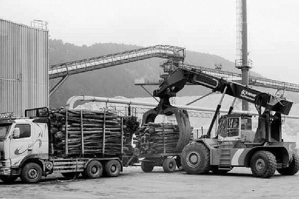 Mondi Ružomberok is Slovakia's largest mill turning tonnes of wood into paper products.