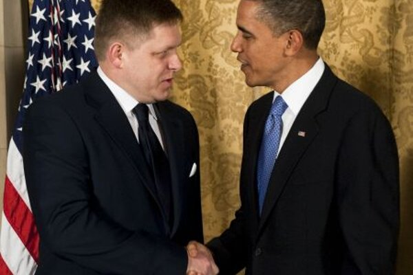 President Obama met with Prime Minister Robert Fico
