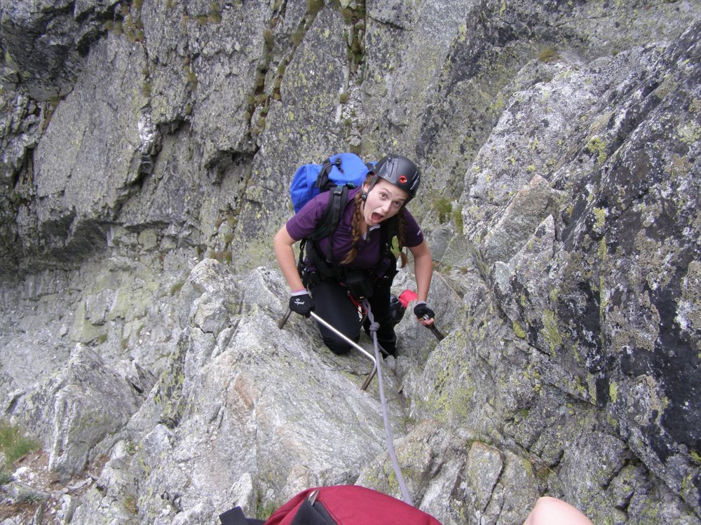 Climbing the highest peaks of Slovakia brings an adrenaline rush.