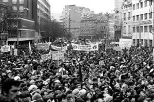 November 1989 in Bratislava