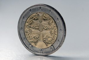 Slovakia's €2 coin has won plaudits from numismatists for its design and ease of handling.