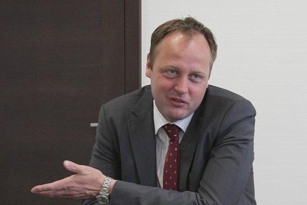 Peter Máčaj, CEO of Slovanet